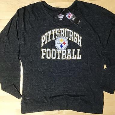 Pittsburgh Steelers Ladies Vintage Doleman Shirt