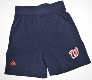 Washington Nationals Girls Shorts