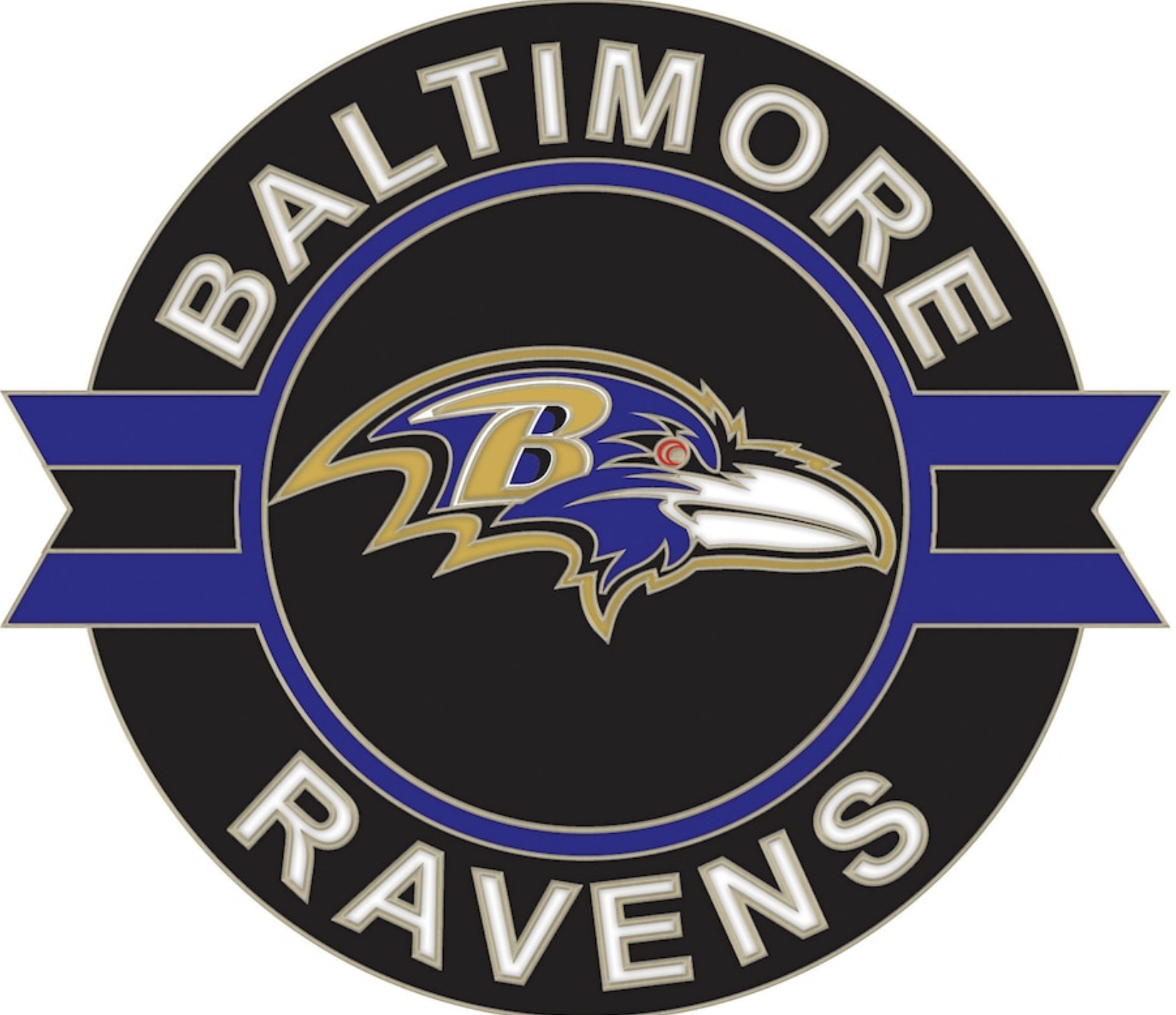 Baltimore Ravens Lapel Pin
