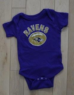 Baltimore Ravens Infant Onsie