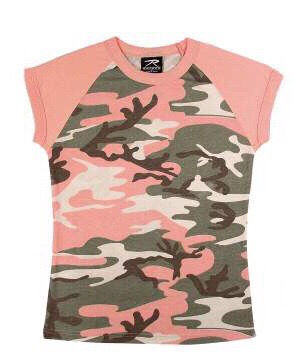 Subdued Pink Raglan T-Shirt