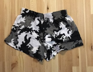 Young Women's Camo Booty Shorts