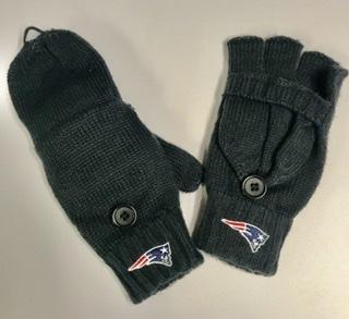 New England Patriots Fingerless Mittens