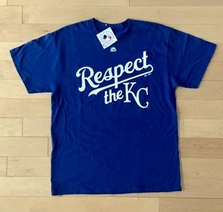 Respect The Kansas City Royals T-Shirt