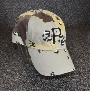 Pittsburgh Pirates Military Camo Clean Up Hat