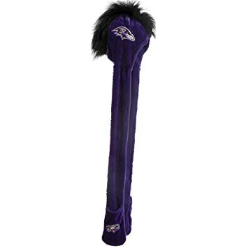 Baltimore Ravens Winter Mohawk Dangle Hat