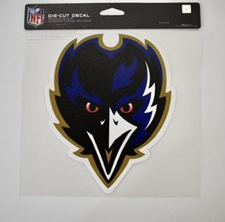 """Baltimore Ravens Alternate Logo 8"""" Decal"""