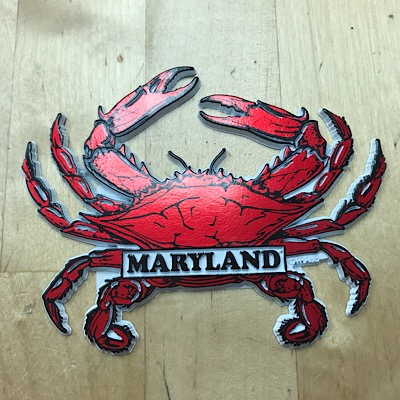 Maryland 3D Crab