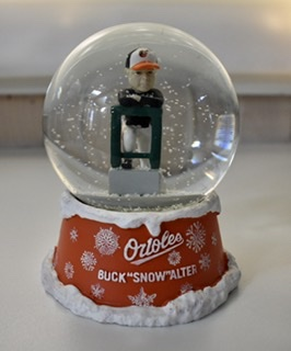Buck Showalter Snow Globe
