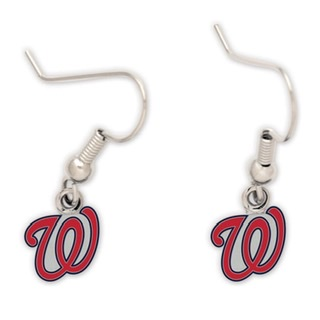Washington Nationals Dangle Earrings