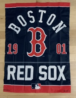 "Boston Red Sox 27""x37"" Vertical House Flag"
