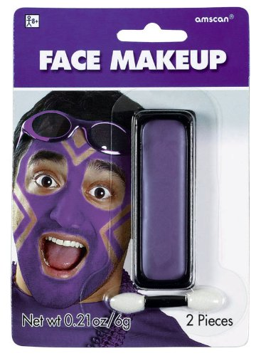 Purple Face Makeup