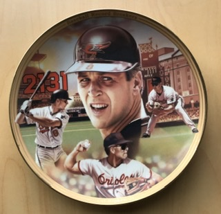 Cal Ripken, Jr. Commemorative Plate