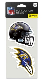 Baltimore Ravens Perfect Cut Decals