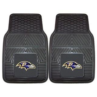 Baltimore Ravens Front Vinyl Car Mats
