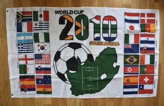 2010 South Africa World Cup 3x5 Flag