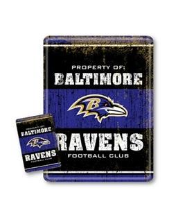 Baltimore Ravens Team Tin Sign