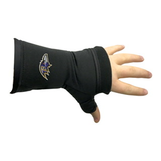 Baltimore Ravens Fingerless Gloves
