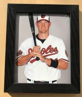 Framed 8x10 Photo Of Baltimore Orioles Matt Wieters