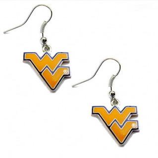 West Virginia Mountaineers Dangle Earrings