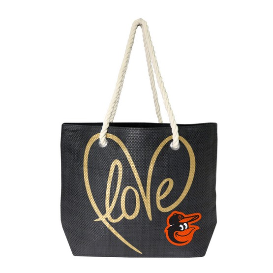 Baltimore Orioles Love Tote Bag