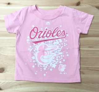 Baltimore Orioles Toddler Girls T-Shirt
