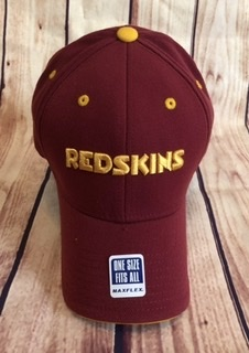 Washington Redskins Burgundy Flex Fit Hat By Reebok