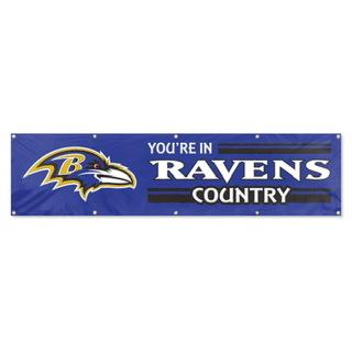Baltimore Ravens 8x2 Banner