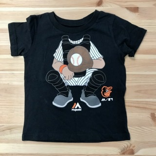 "Baltimore Orioles Toddler ""I'm A Catcher"" T-shirt"