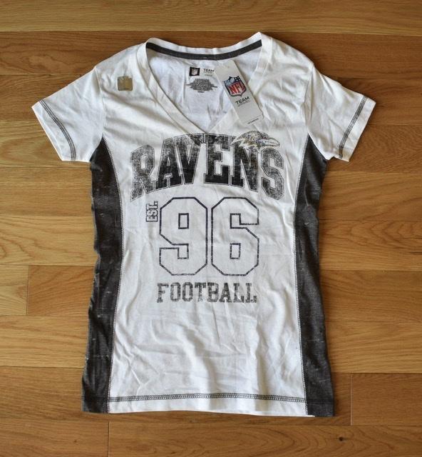 Baltimore Ravens Ladies Varsity T-shirt
