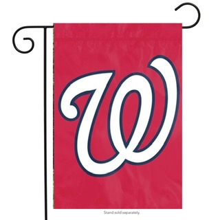 Washington Nationals Premium Garden Flag