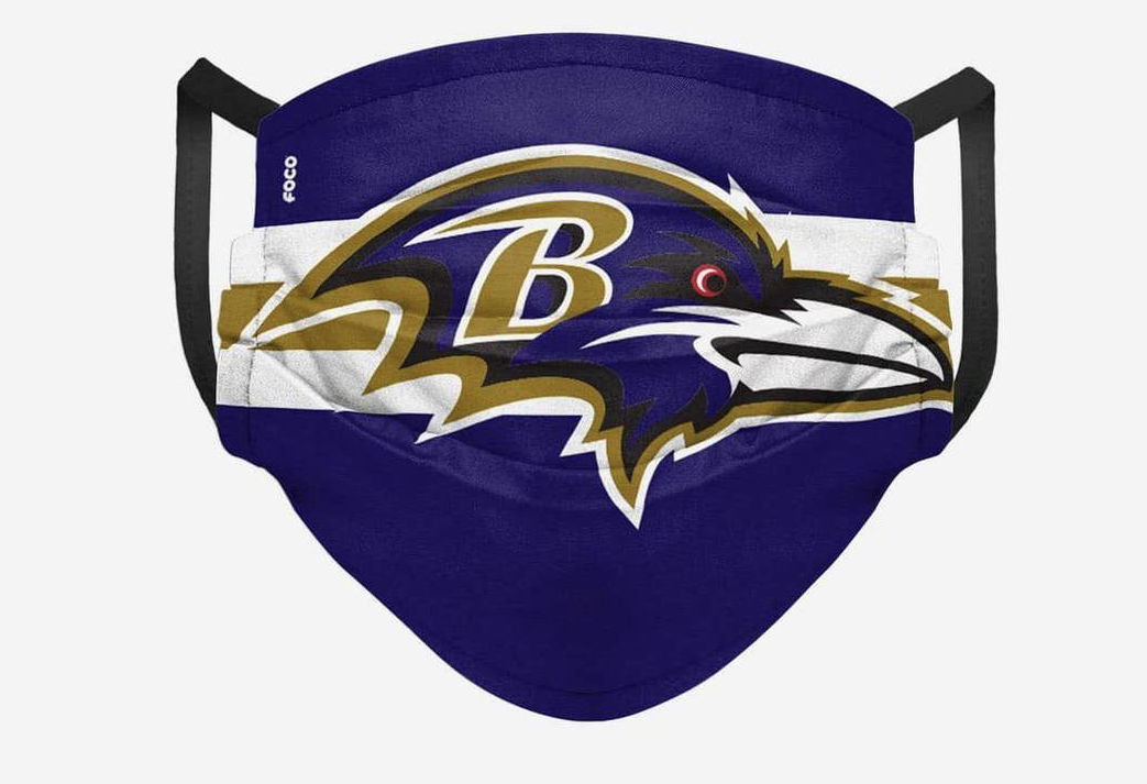 Baltimore Ravens Face Mask