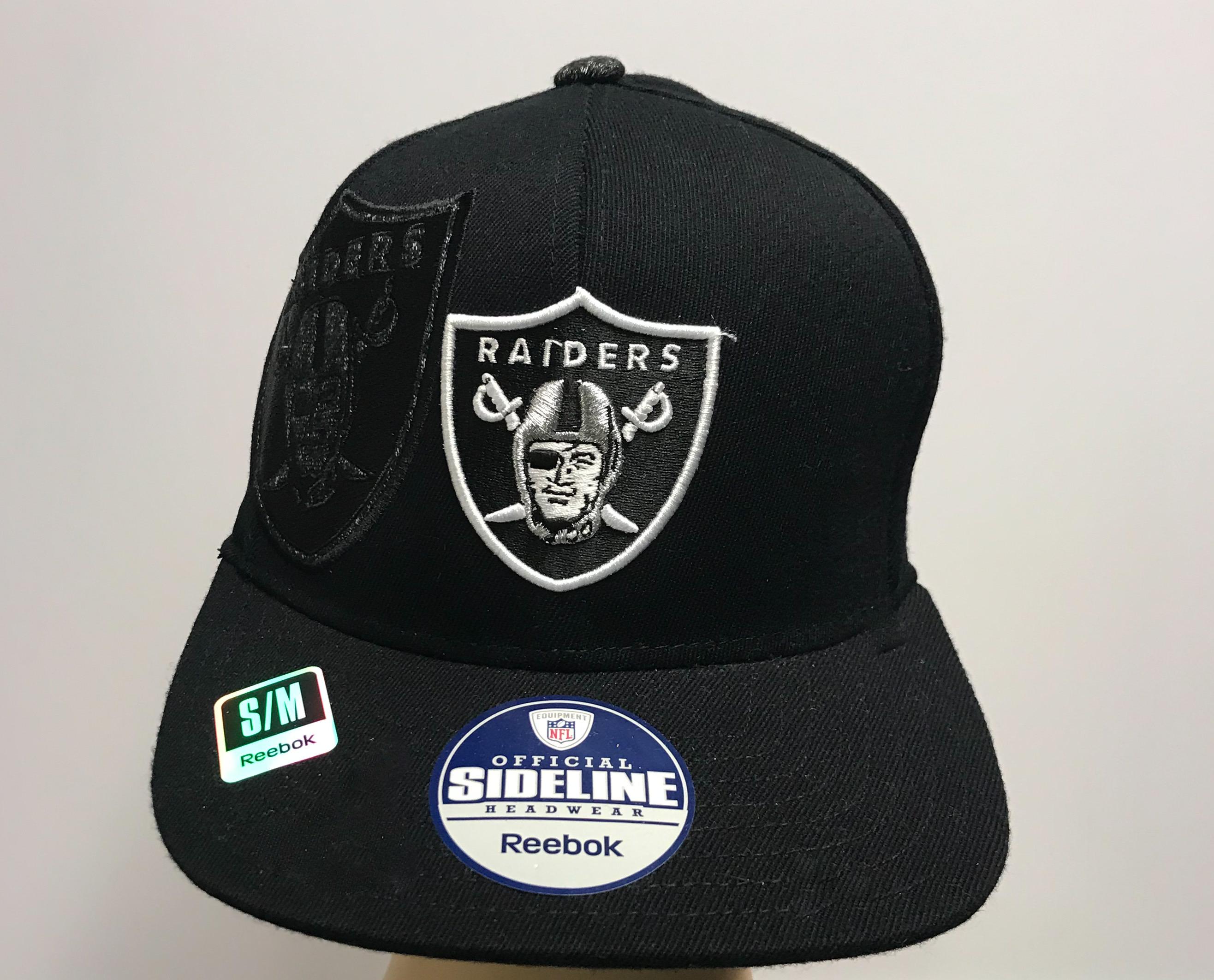 Raiders Sideline Hat By Reebok