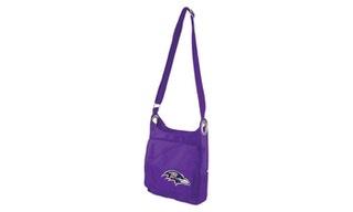 Baltimore Ravens Cross-body Bag By Little Earth