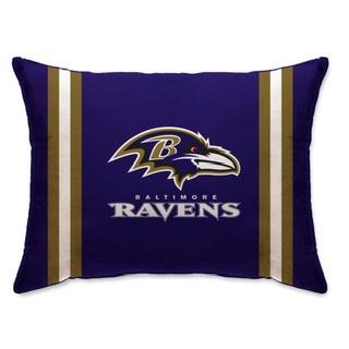 """Baltimore Ravens 20"""" x 26"""" Striped Pillow"""