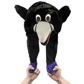 Baltimore Ravens Pump Action Mascot Hat