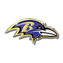 Baltimore Ravens Full Color Auto Emblem