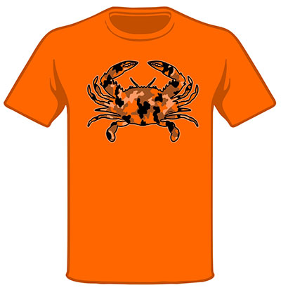 Wild Bill's Camo Crab T-Shirt