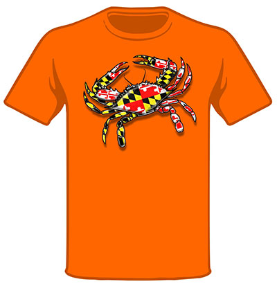 Wild Bill's Maryland Crab T's