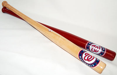 Washington Nationals Mini Bat