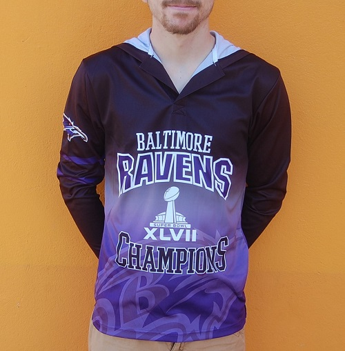 Baltimore Ravens Super Bowl XLVII Commemorative Shirt