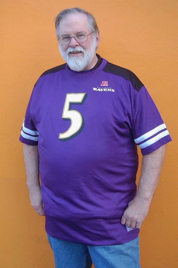 Baltimore Ravens Big & Tall Flacco Jersey