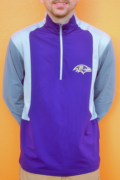 Baltimore Ravens Mens Beta Pullover By Antigua
