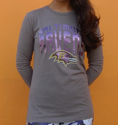 Ravens Ladies Long Sleeve T-Shirt