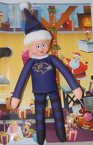 Baltimore Ravens Team Elf