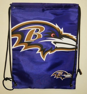 Baltimore Ravens Drawstring Bag