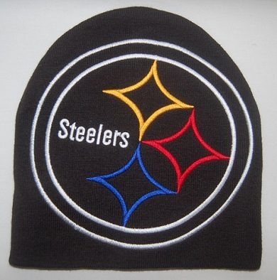 Pittsburgh Steelers Big Logo Men's Knit Hat