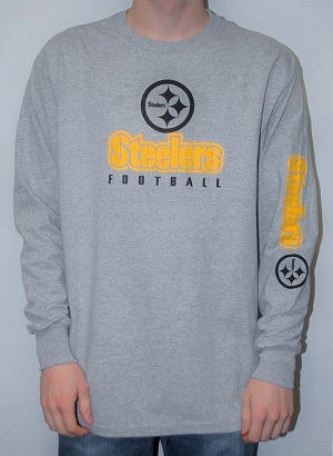 Pittsburgh Steelers Men's Long Sleeved T-Shirt
