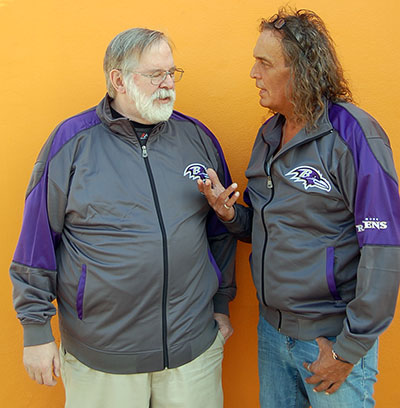 Baltimore Ravens Team Apparel Big & Tall Track Jackets