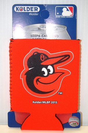 Baltimore Orioles Bright Orange Kolder Holder